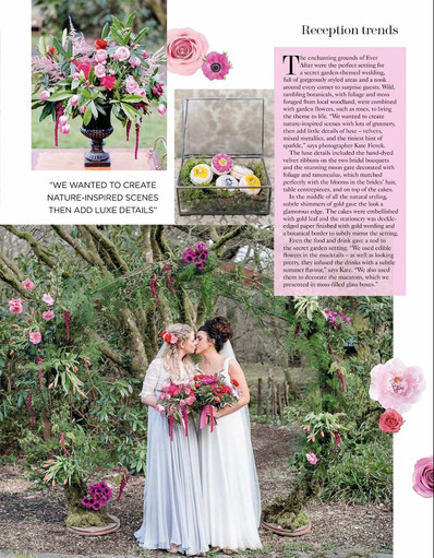 You and Your Wedding magazine feature