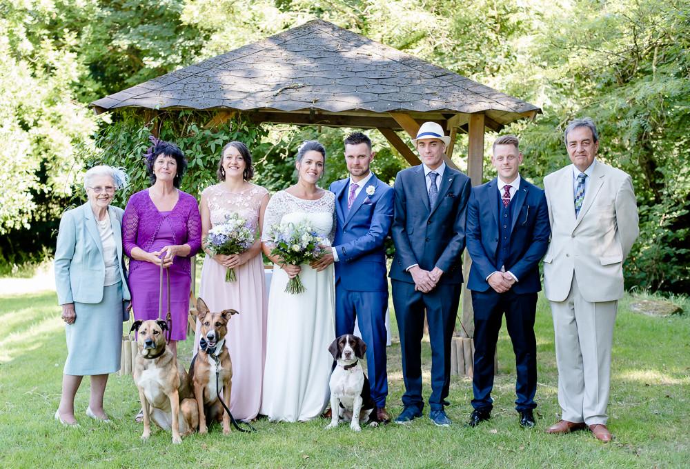 Outdoor wedding venues in Cornwall