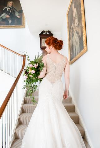 Martin Thornburg dress at Pentillie Castle & Estate
