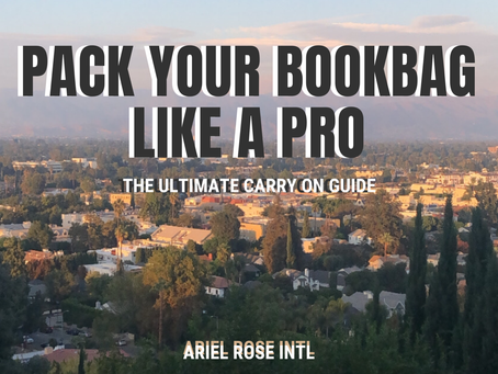 Pack Your Bookbag Like A Pro - Ultimate Carry On Guide
