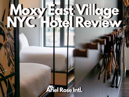 Moxy East Village NYC Hotel - Hotel Review