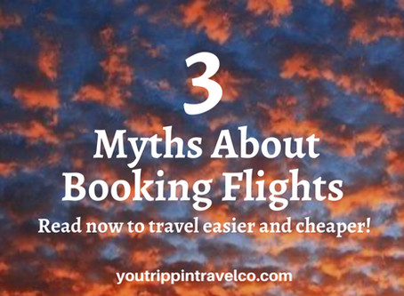 3 Myths About Booking Flights