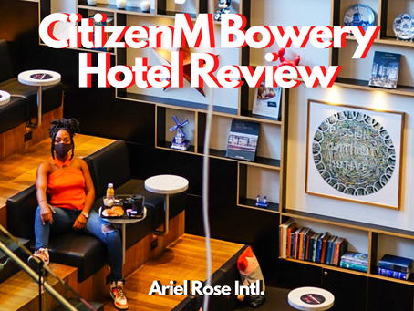 CitizenM New York Bowery Hotel - Hotel Review