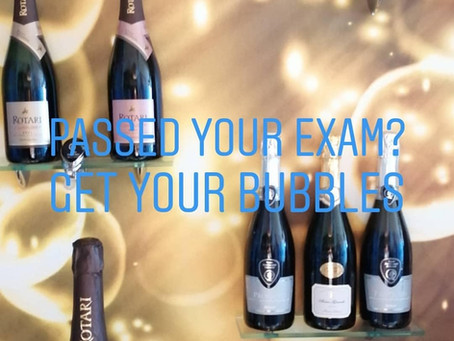 Passed your exam? Get your bubbles!