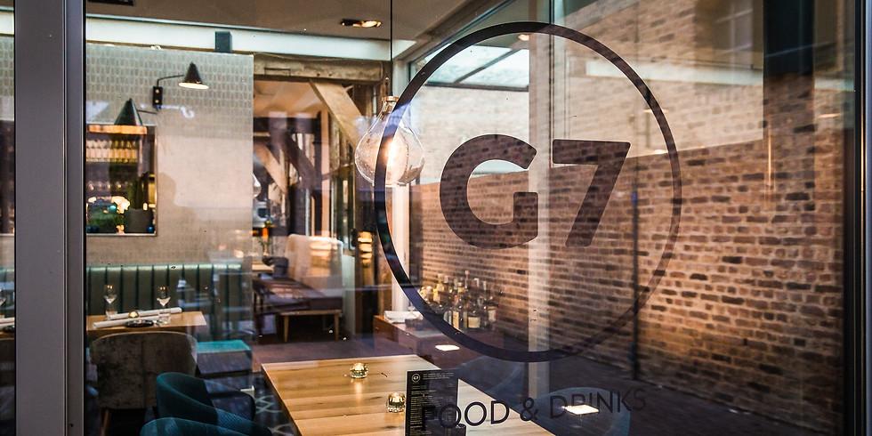 Kerst/Nieuwjaarsbijeenkomst bij restaurant G7 in Sittard