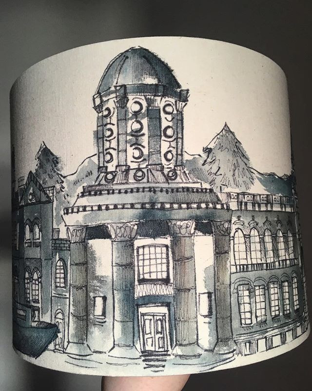 Saltaire lampshade