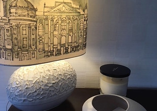 Newcastle lampshade commissioned