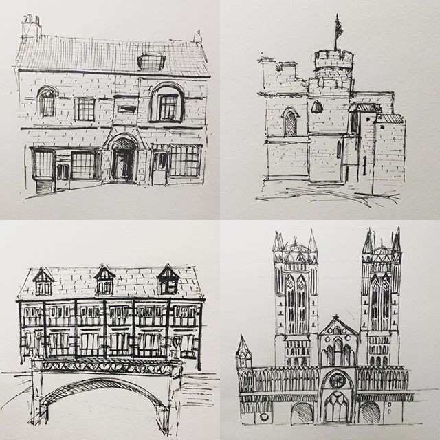 drawings Lincoln architecture
