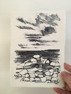 st Ives drawing