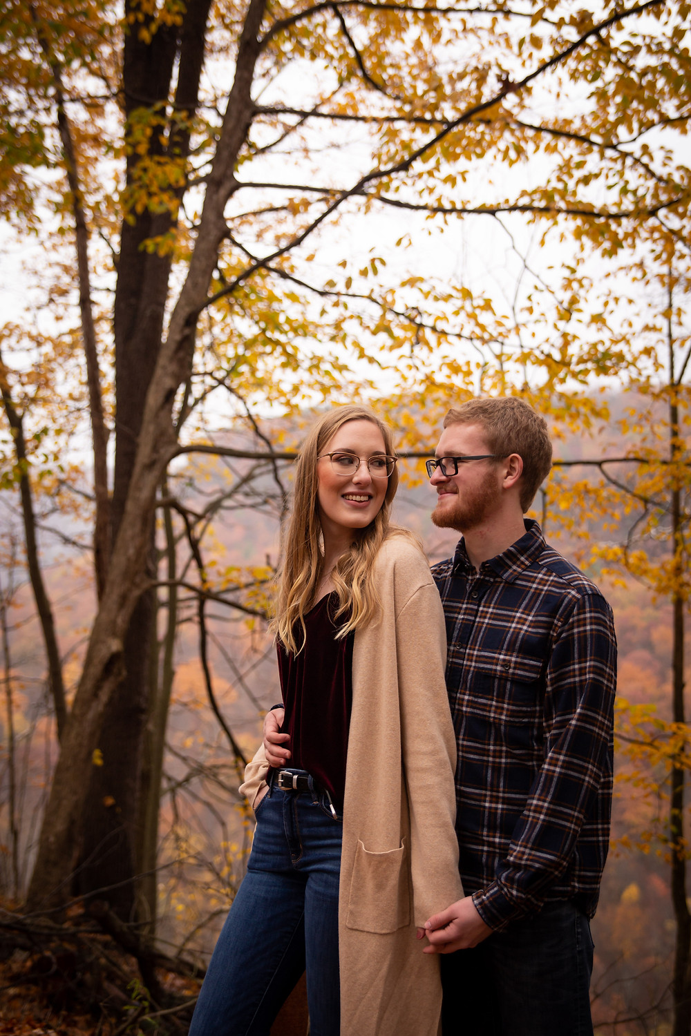 best places to take fall engagement photos buffalo western NY