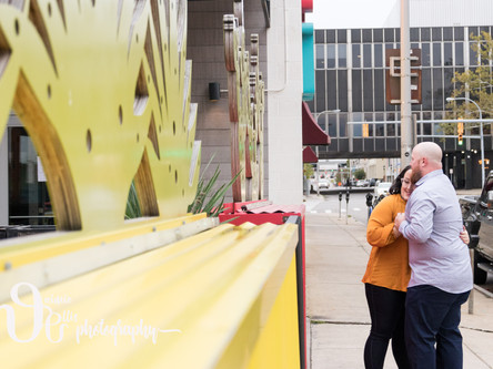 Lindsay & Eric's Deep South Taco and Downtown Buffalo Engagement Sesh!
