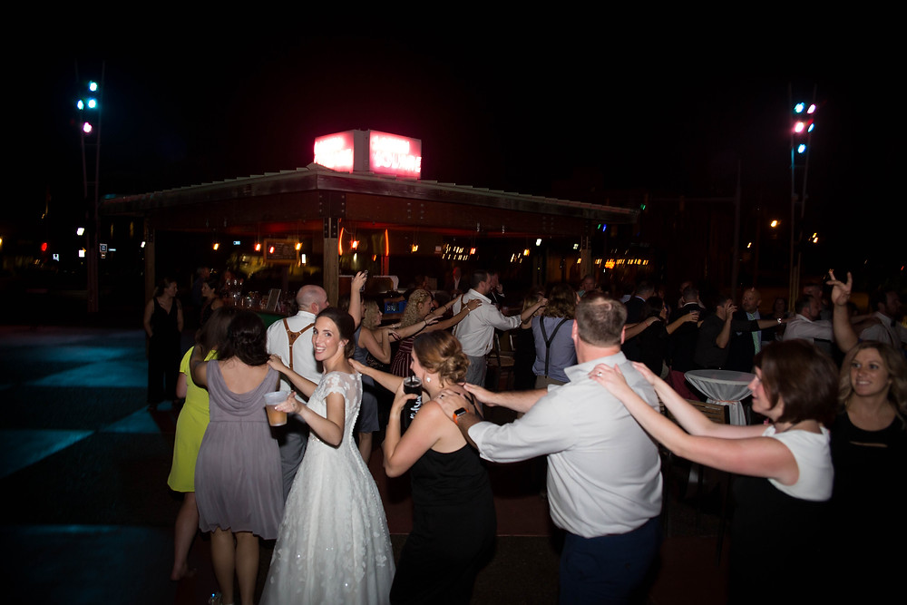 Larkinville Buffalo NY Larkin Wedding Reception Ultimate Event DJ Dance floor