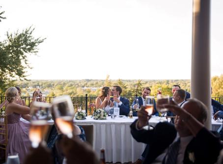 Sara + Grant's Country Club of Buffalo Wedding