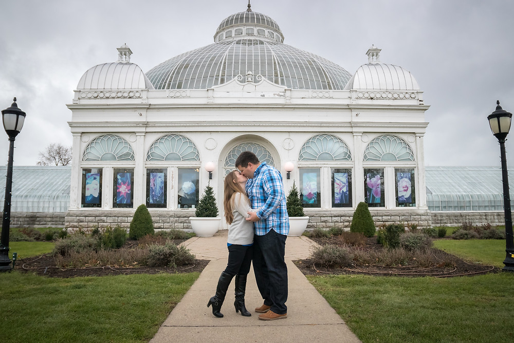 Buffalo Botanical Gardens Engagement