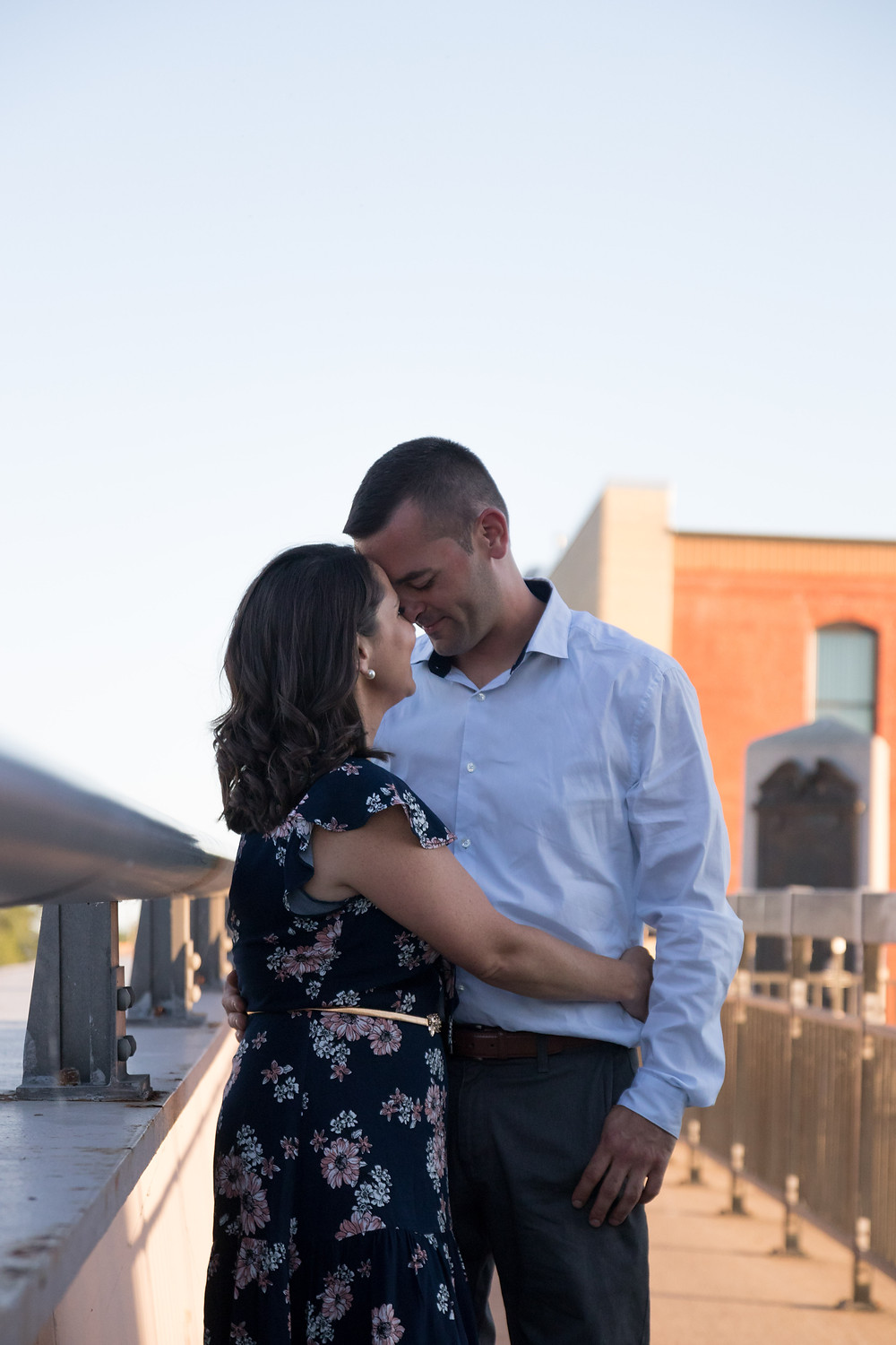Gateway Harbor Webster St Bridge Tonawanda Engagement Portrait Photography