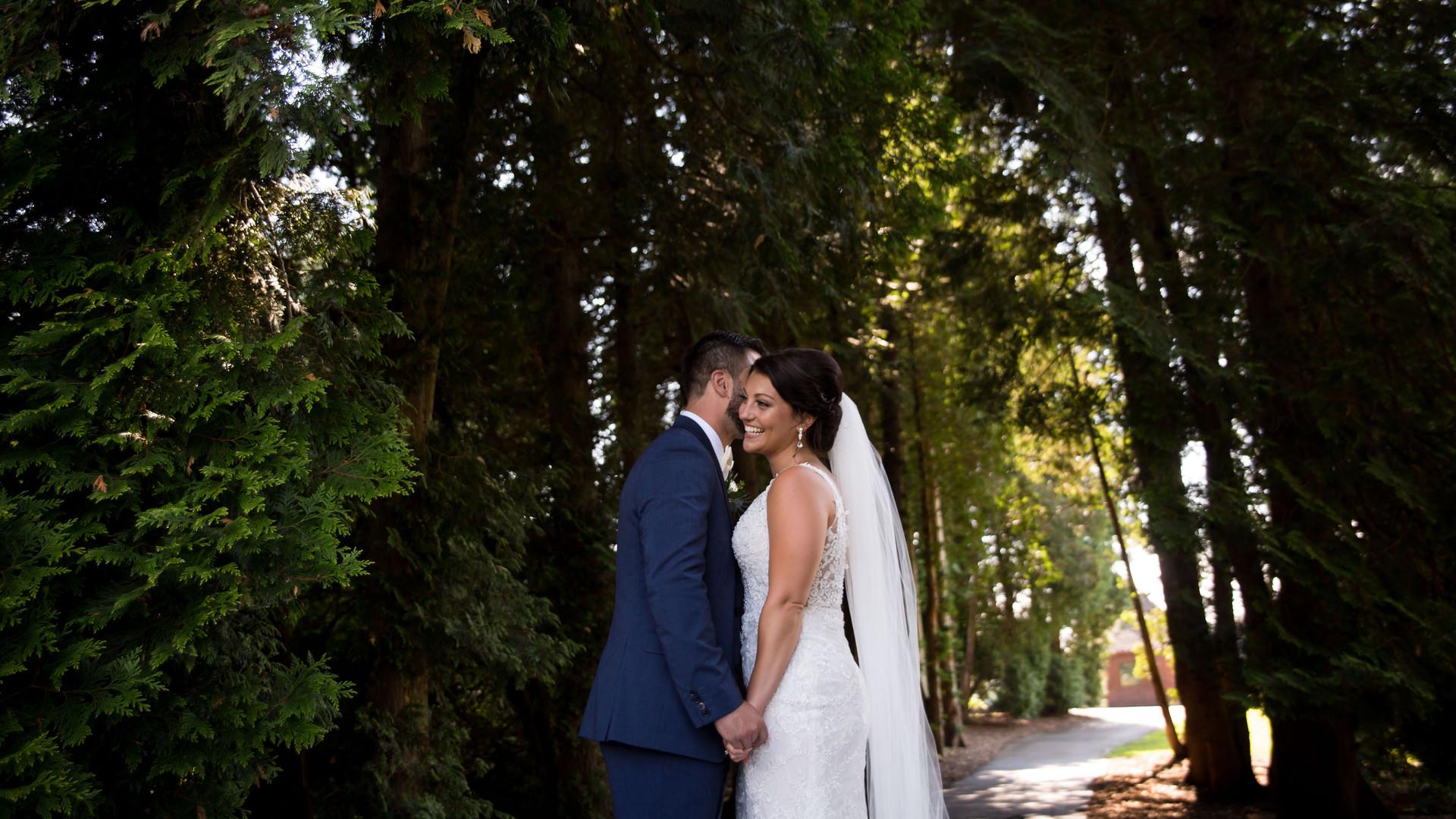 Buffalo country club wedding photographer