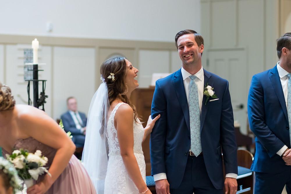 wedding ceremony st marys church east amherst ny