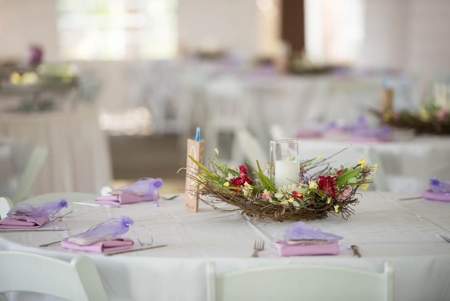 diy table decorations Banchetti by Rizzo's Buffalo NY