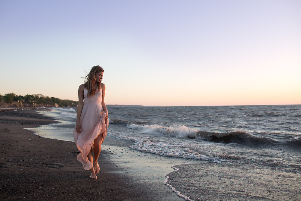 beach babe boudoir photo shoot buffalo ny Jaimie Ellis Photography
