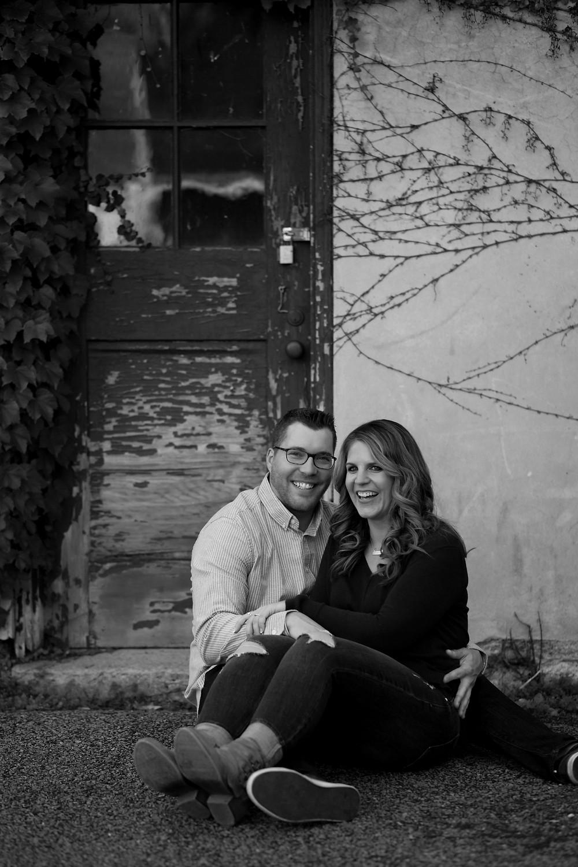 pretty rustic location for couple portrait photo Knox Farm East Aurora NY