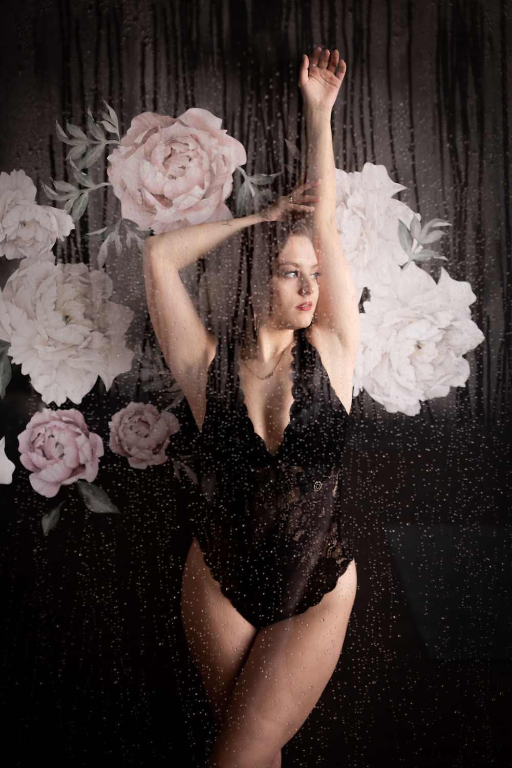 buffalo boudoir studio shower set