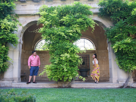 Sara + Bobby's Engagement Session | George Eastman Museum + downtown Rochester NY