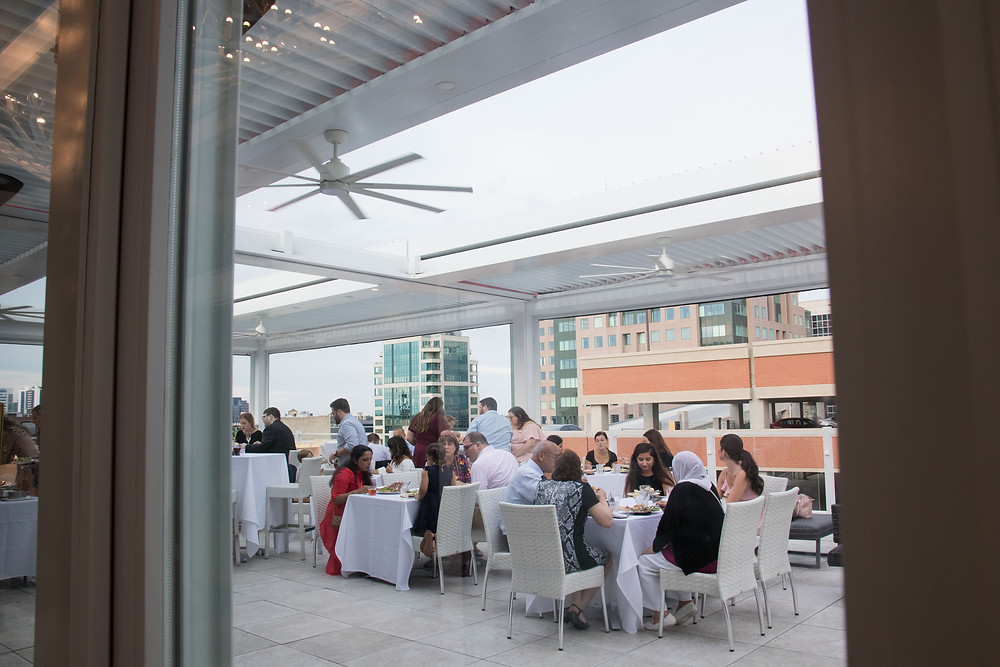 Curtiss Hotel downtown Buffalo rooftop bar VUE Wedding Reception WNY Top 10 Venue