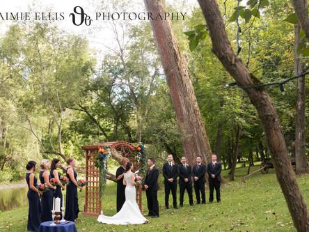 Vanessa & Dan's Sleepy Hollow Wedding | East Aurora NY