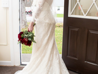 Alison & Scott's Autumn Spring Lake Winery Wedding