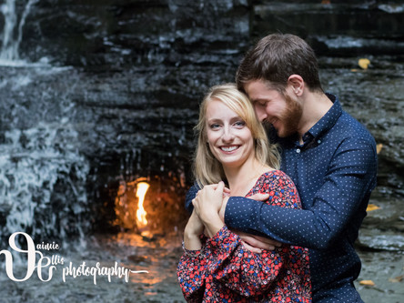 Alex & Joe's Engagement Hike to the Eternal Flame | Chestnut Ridge Park NY