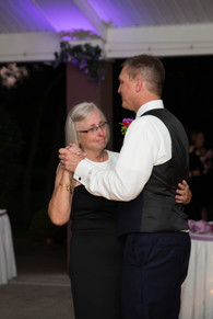 groom and mom share dance at Banchetti by Rizzo Buffalo NY wedding reception