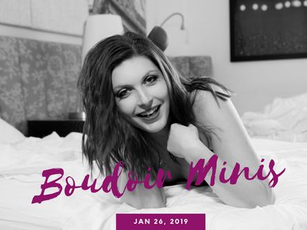 Valentine's Day Boudoir Minis 2019 | Buffalo NY