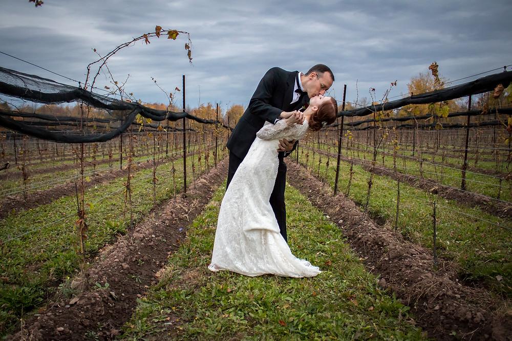 Spring Lake Winery Wedding