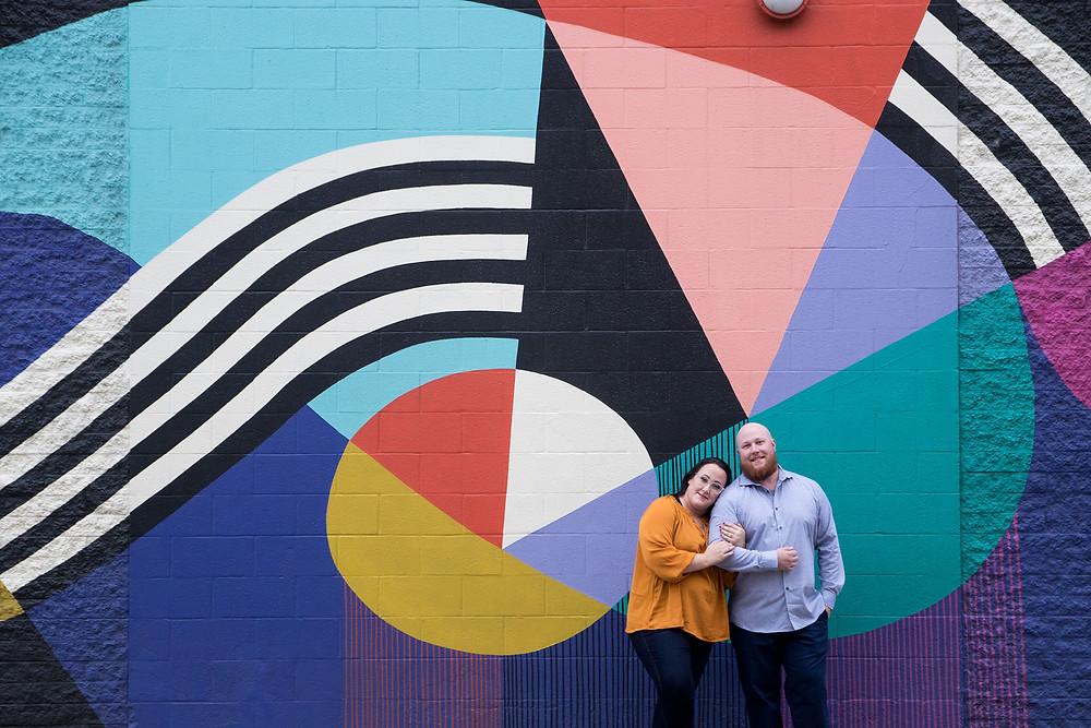 downtown Buffalo mural engagement photo