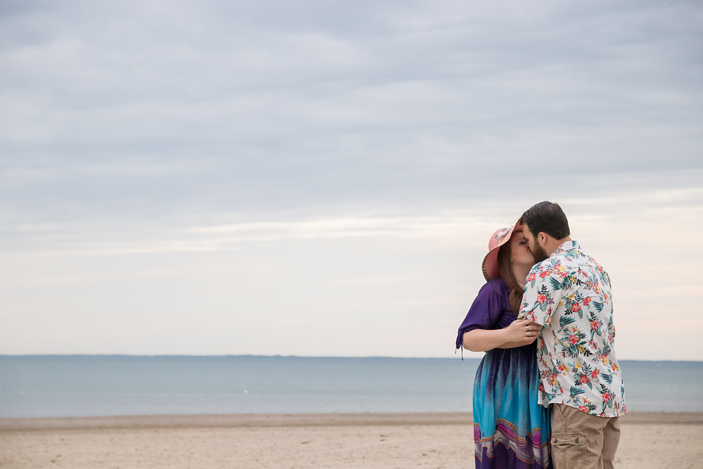 Woodlawn Beach Engagement Photography