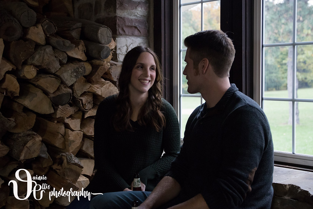 Buffalo NY Wedding Photographer Chestnut Ridge Engagement Portraits