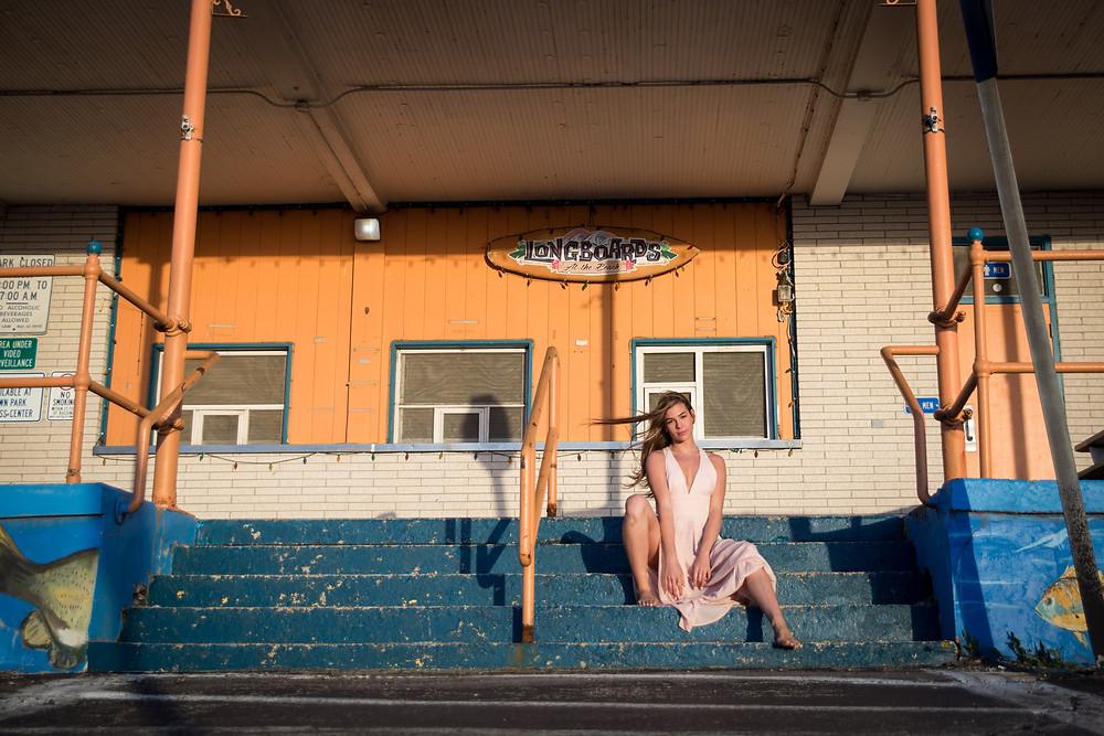 longboard beach boudoir photo shoot buffalo ny