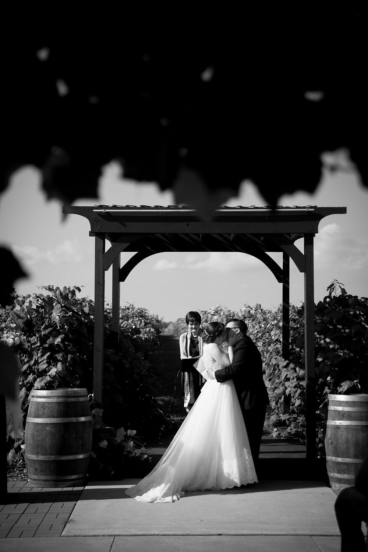 Becker Farms Gasport NY intimate wedding elopement ceremony