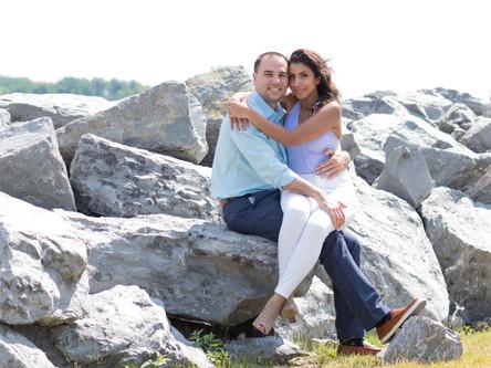 Rana + Jason - Lake Erie Love Doctors : )
