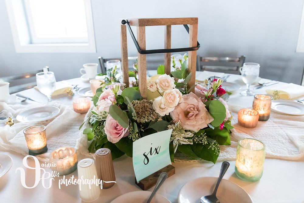 Beck Forth Co Bridal Shop Wedding Planner Centerpiece Wreath