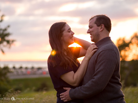 Larissa + Josh's Engagement at Sahlen Field + Tifft Nature Preserve | Buffalo New York