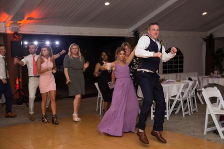 wedding reception at Buffalo outdoor venue Banchetti by Rizzo