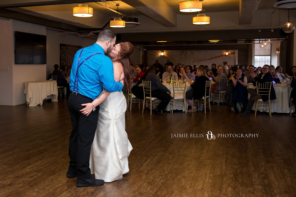 Events at the Wurlitzer Wedding Reception and first dance