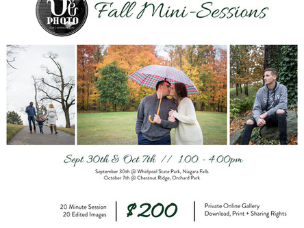 Fall Mini-Sessions 2018