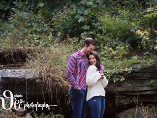 Sara & Grant's Glen Park Engagement Session | Williamsville NY