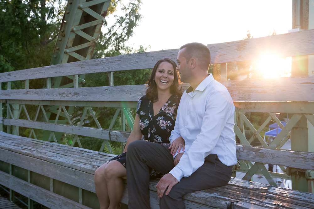 Gateway Harbor Park Tonawanda Engagement Portrait Photography