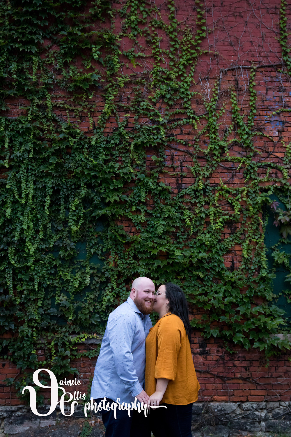 downtown Buffalo engagement photos