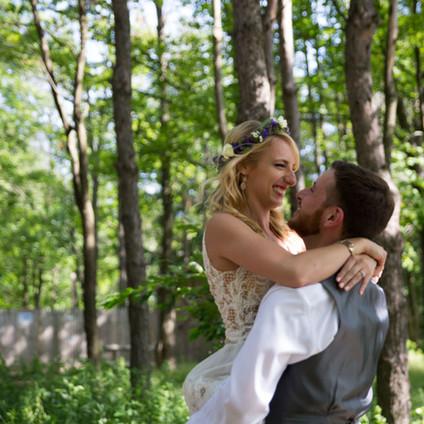 Alex + Joe - Married at La Esposita Bonita Estate in Varysburg NY