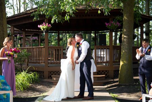 Banchetti by Rizzo Buffalo NY outdoor wedding ceremony