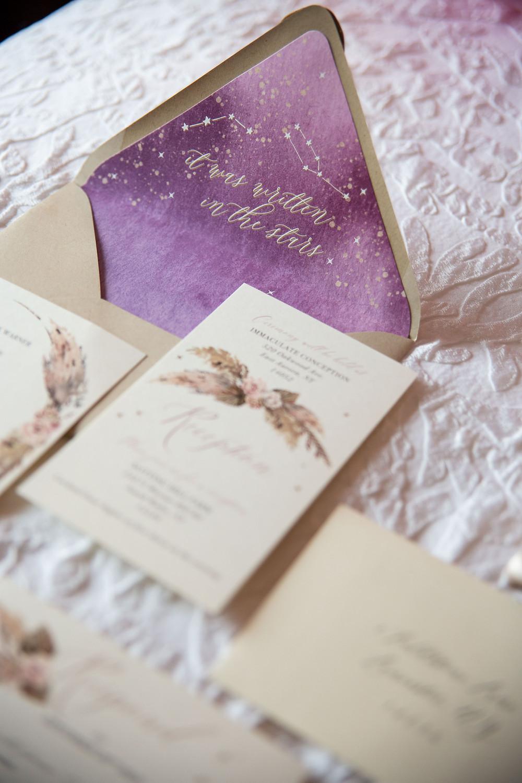Roycroft East Aurora wedding Jaimie Ellis Photography Graphic Poetry GP Invitations